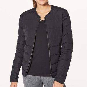 Lululemon just enough puffer jacket black